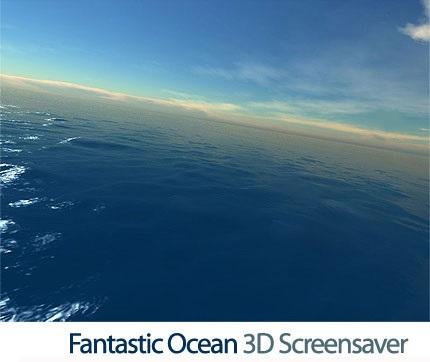 Fantastic Ocean 3D screensaver v1.6 - اسکرین سیور اقیانوس فوق العاده